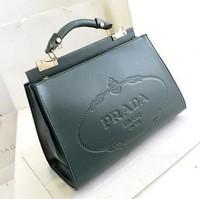 2014 fashion women's cowhide genuine leather handbag famous brand desinger elegant vintage totes messenger bag free shipping