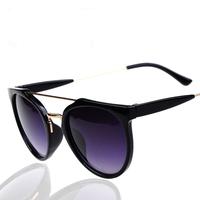 Aevogue 2014 sun glasses women armacoes de oculos femininos aviator sunglasses big clear glasses
