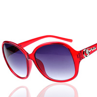 High quality Polycarbonate lens sunglasses women with box,standard UVA/UVB 400CE sunglasses women brand designer 2014