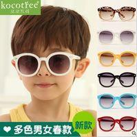 E11 Vintage Fashion Large Frame Children Sunglasses UV 400 Baby Glasses Free Shipping