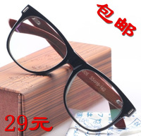 wholesale Popular design Wool big frame glasses frame myopia Men female eye box isconvoluting  5pcs free shipping