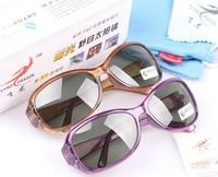 Popular design 2910 women's quality polarized sunglasses fashion sunglasses polarized sunglasses test card  5pcs free shipping