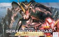 model building 1/144 00 high HG up to 37 seraph Seraphim Gundam deformable Gundam robot model building toys 12cm