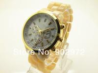 New  arrived  2014   diamond  clear brown  women fashion luxury watch women rhinestone watches+free shipping DHL