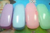 Hot selling Lowest price wholesale Free shipping Plastic box glasses box fresh glasses box  5pcs