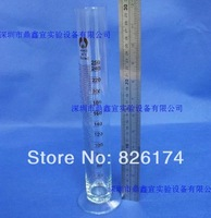 free shipping by china post air mail 250ml glass measuring cylinder