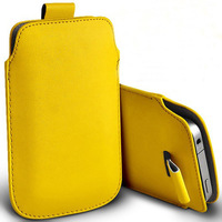 new 2014 1pcs bulk novelty new PU Leather PU Pouch Case Bag for zte N880F with Pull Out Function phone cases
