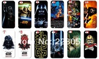 1pcs/lo brand New fashion designs Star Wars hard white case mobile phone case cover for iphone 5 5th 5S iphone5 c1 free shipping