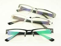 Discount Accessories wholesale Metal box myopia frame plain mirror black glasses k805  10pcs/lot