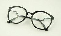 Discount Accessories wholesale Metal mixed plain mirror black glasses 5948  10pcs/lot