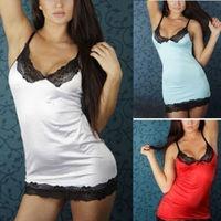 HOT Sexy Women Lady Lingerie Sleepwear Lace Dress Underwear Nightwear G-string