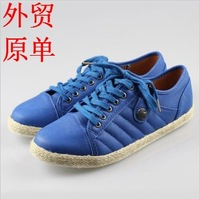 new 2014 Autumn female skateboarding shoes fashion lacing shoes low-top casual driving shoes