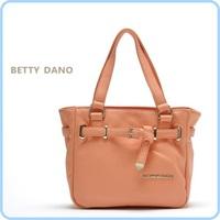 Free Shiping 1pc retail 100% high quality leather women bag ,betty dano brand women leather handbags#54082