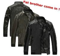 New!!! men's EXTRA LARGE leather jacket coat MEN big size genuine leather jacket coat men motorcycle leather coat XXXXL-XXXXXXXL