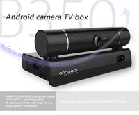 B350 Quad Core RK3188 Andriod 4.2 TV Box 2GB/ 8GB  5.0MP Camera Bluetooth TV Media Player with air mouse free shipping
