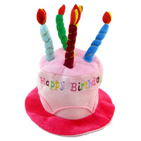 Party supplies birthday cake hat child birthday hat birthday hat 70g