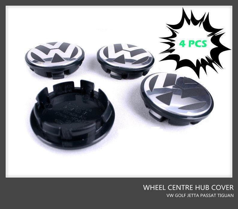 VW 3B7601171 Golf Jetta JETTA PASSAT EOS TIGUAN emblem logo badge das Abzeichen 4pcs Wheel Center Covers Wheel Centre Hub cap(China (Mainland))