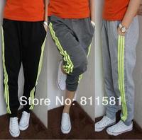 Free shipping new Korean fashion casual pants sweatpants students Methodist knit pants cotton trousers