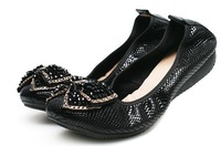 women genuine leather shoes 2014 new women flats causal slip on loafer fashion women shoes 2005