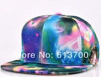 2014 New Galaxy Pattern Space Print Snapback hats Style Women Men Hats Fashion Baseball Hip Hop Cap 20 pcs/lot Free Shipping