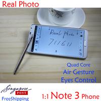 """Note3 phone Note III phone MTK6589 MTK6582 N9000 phone N900 phone Android 4.3 Quad core Note 3 5.7"""" quadcore 1GB 1280*720"""