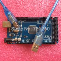 Mega2560 R3 ATmega2560-16AU (5pcs Board +5pcs USB Cable)  mega 2560 Free Shipping With tracking number