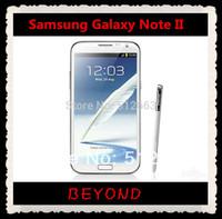 "Samsung Galaxy Note II N7100 N7105 Original Unlocked 3G&4G GSM Android Mobile Phone Quad-core 5.5"" 8MP WIFI GPS 16GB"