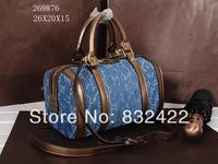 New 2014 women's  Blue Leather handbag fashion G luxury Totes Brand shoulder bags 26987614