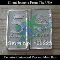 Customized Precious Metal Bars from USA