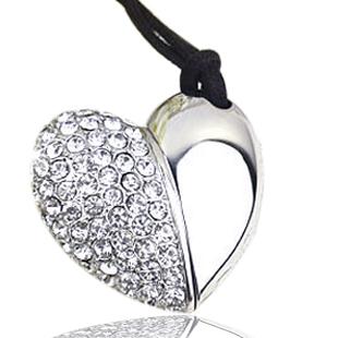pen drive Diamond love heart 1tb 2tb Heart Jewelry Hot Cupid love gift 1TB 2TB usb flash drive flash memory stick pendrive gift(China (Mainland))