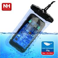 Naturehike mobile phone waterproof bag looply transparent storage bag drifting submersible sets waterproof
