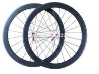 NEW! 50mm clincher wheels, carbon WHEELS, 700C carbon road bike wheels, free shipping