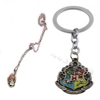 Harry Potter Hogwarts Logo Metal 2PCS