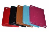 "Multi-colors Leather Folio Case Stand Cover For Lenovo A3000 case 7"" IdeaTab"