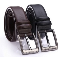 New Spring 2014 Men Leather Belt High Quality Nagarjuna Grain Genuine Leather Casual Strap Male Ceinture Buckle Belts