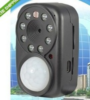 Quad band GSM MMS Alarm photo video Camera DV remote monitor PIR IR night vision