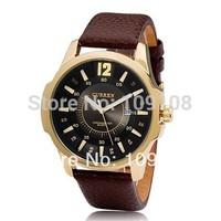 CURREN 8123 Men's Round Dial Analog Quartz Watch with Date Display  casual watch fashion watch