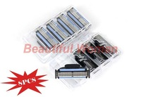 8 PCS Layer 3 Blade Razor Blades Shaver Blade For Men With Packing Box EU& US& RUS 18523