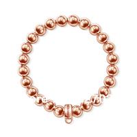 ts new  hot selling hot bracelets  ts factory price bracelets Stainless steel bead bracelet Diameter of 8mm tsb0011