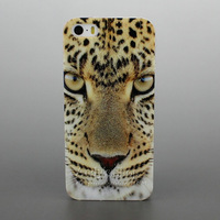 Soft Rubber TPU Case Cool Tiger Head Leopard Cover For iPhone 5 5S,Free Screen Protector,Drop Shipping,Free Shipping