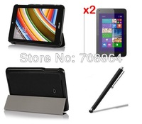 New Ultra-Thin Tri-Fold Protetive Smart Protect Case Cover Shell+2xFilm+Stylus For ASUS Vivo Tab Note 8 M80TA 8 inch Tablet PC