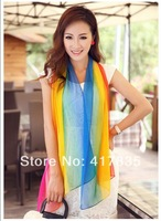 Free Shipping NEN 2014! Temperament Excellent  printing Thin Section the Silk Floss Women Scarf Shawl Long scarf