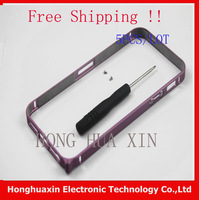 5pcs/lot Free Shipping  for iPhone 5 5g hight quality new porduct aluminium Metal bumper frame Ultra Thin  shell For iPhone 5g