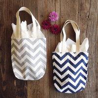 new 2014 bag women brand Bridesmaid Gifts - Chevron Mini Totes-Wedding Favors - Chevron Bags girls messenger bags women handbag