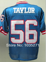 #56 Lawrence Taylor Jersey Throwback American Football Jersey Stitched Logo Embroidery Authentic Jersey Sport Jersey