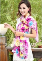 2014 new style Female scarves fields and gardens women Cotton scarves autumn and lady Summer scarf Silk pashmina silk scarf