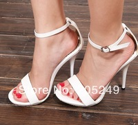 Very hot very good quality famous brand 2014 women rhinestone platform big size women sexy sandals