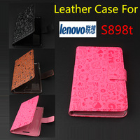 Lenovo S898t Case, New High Quality PU Filp Leather Cover Case for Lenovo S898t Case,Free Ship!