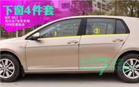 New! 2014 Bottom Window frame sill trim 4pcs for VW Volkswagen Golf 7