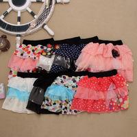 Wholesale- 2014 Hot Selling Girl's Skirts Summer Shirts Chiffon Girl's Tutu Skirts